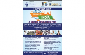 Study In India- An Education Fair by EDCIL
