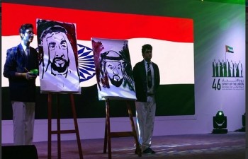 Indian Folklores on the occasion of 46th UAE National Day Celebrations