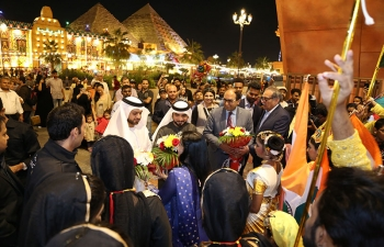 Inauguration of India Pavilion at Global Village
