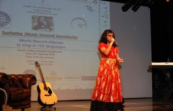 Ms.Sucheta Satish : Music Beyond Boundaries