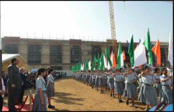 Republic Day Celebration at Indian High School Dubai