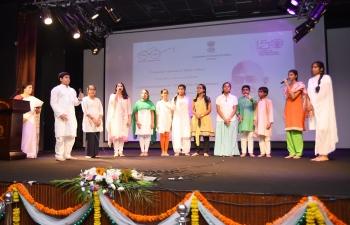 Commencement of 150th Birth Anniversary of Mahatma Gandhi celebrations