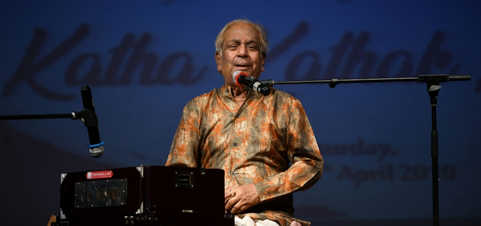 Katha Kathak Ki... A delightful cultural evening with the maestro Padma Vibhushan Pandit Birju Maharaj at the Consulate on 27th April 2019.
