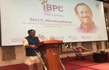 Visit of Hon'ble Minister of State for External Affairs and Parliamentary Affairs Sh. V. Muraleedharan