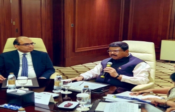 Visit of Hon'ble Union Minister of Petroleum and Natural Gas and Minister of Steel, Sh. Dharmendra Pradhan