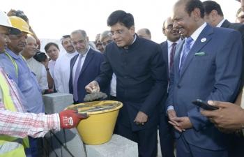Ministerial Visits to UAE - Sh.Piyush Goyal Visit_Expo 2020