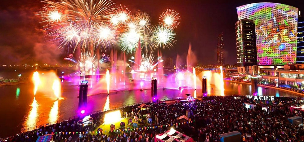 Grand Diwali celebrations, fireworks and launch of the IMAGINE show
