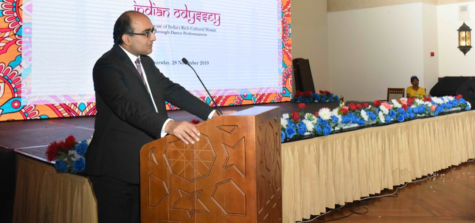 Consul General Sh. Vipul address the gathering at the event