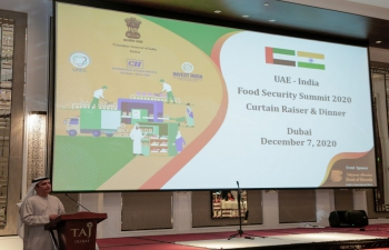 UAE-India Food Security Summit 2020
