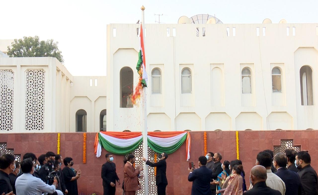 Republic Day celebration at Indian Consulate, Dubai, 26 Jan 2021