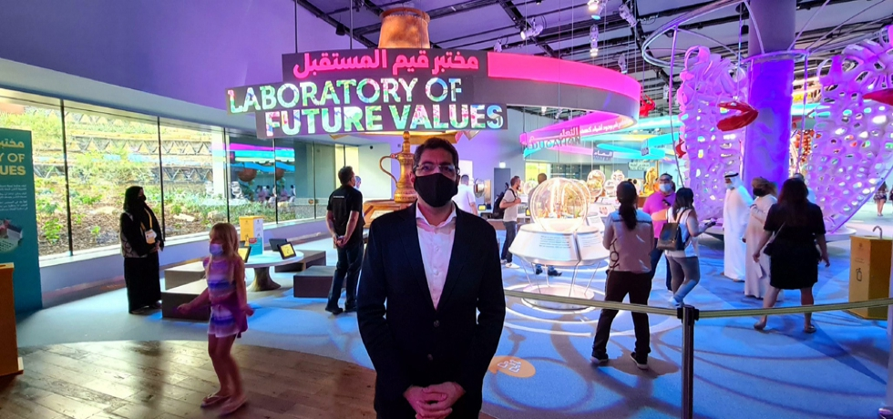 CG Dr. Aman Puri visited Terra–The Sustainability Pavilion at Expo 2020, Dubai. March 30th 2021.