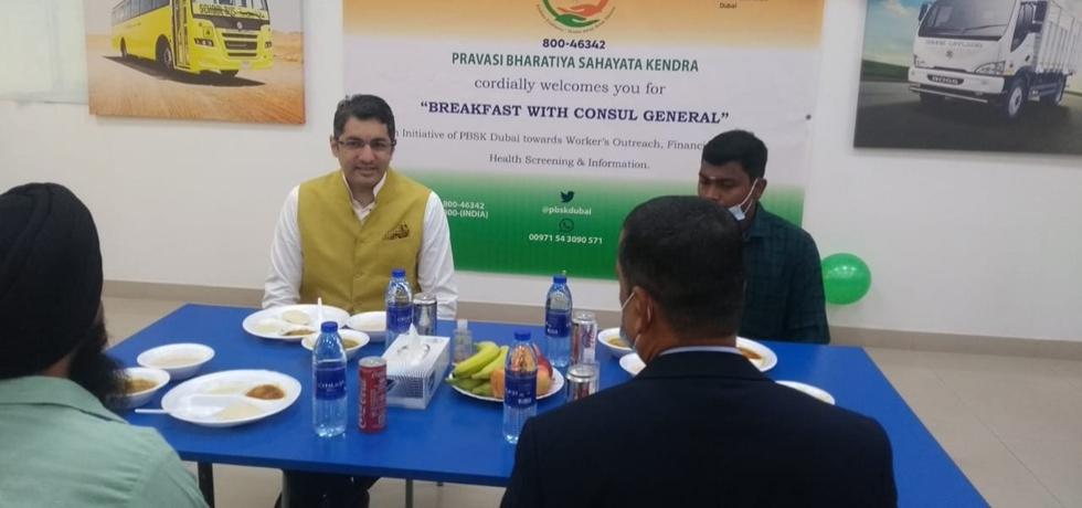 CG Dr. Aman Puri visited Ashok Leyland Manufacturing Assembly Plant, Ras Al-Khaimah as part of