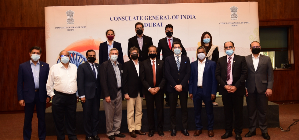 CG Dr. Aman Puri met the executive members of Indian Business and Professional Council (IBPC). June 30, 2021