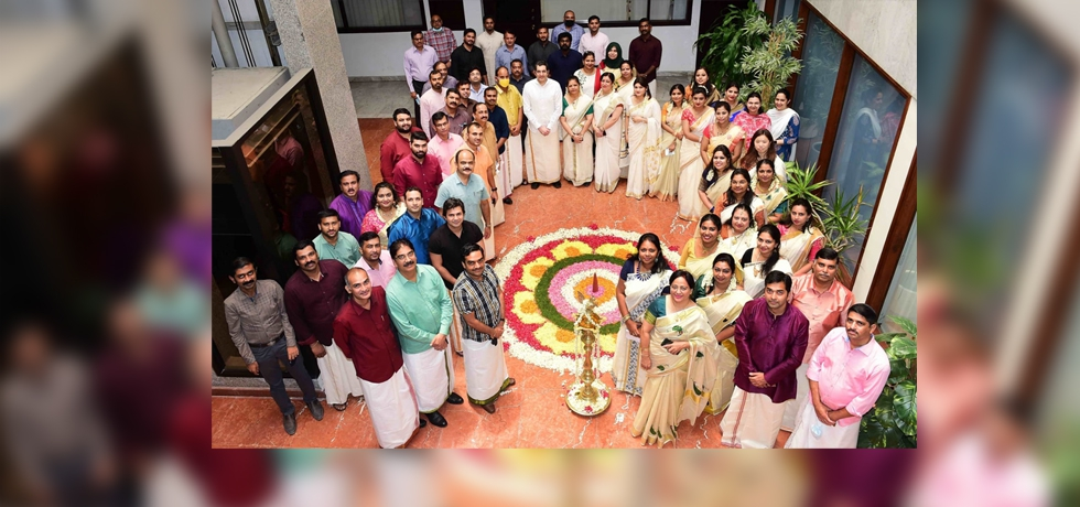 Consulate General of India in Dubai celebrated Onam festival at the Consulate. 24 August 2021